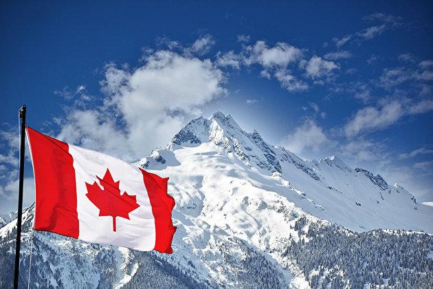 #Канадский флаг