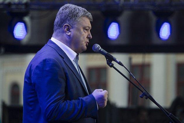 %Президент Украины Петр Порошенко