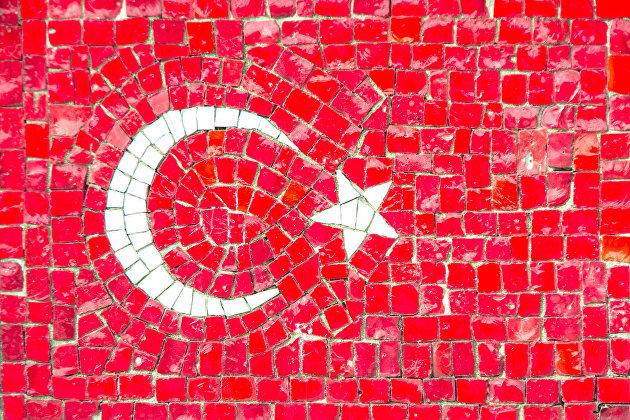 %Турецкий флаг
