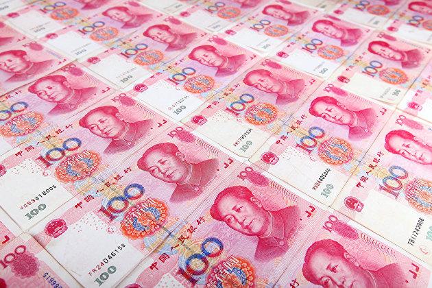 % Китайский юань