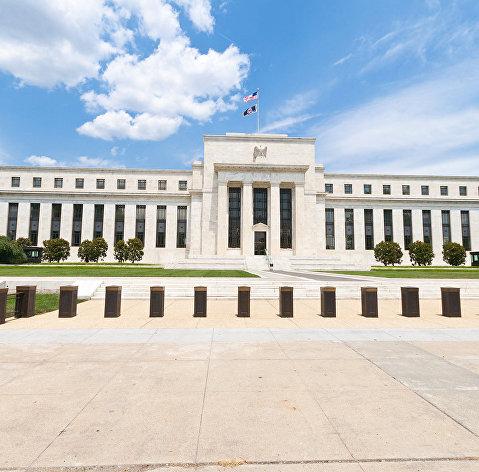 %Здание ФРС США