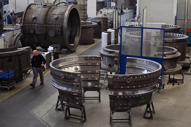 Siemens установил турбины для строящейся ГрозненскойТС «Газпром энергохолдинга»