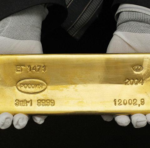 %Золотой слиток