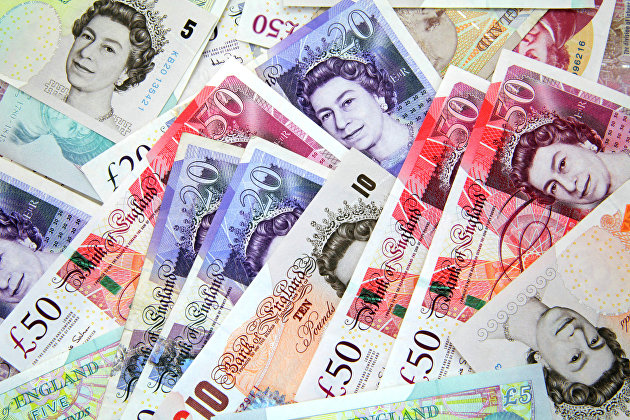 %Британские фунты