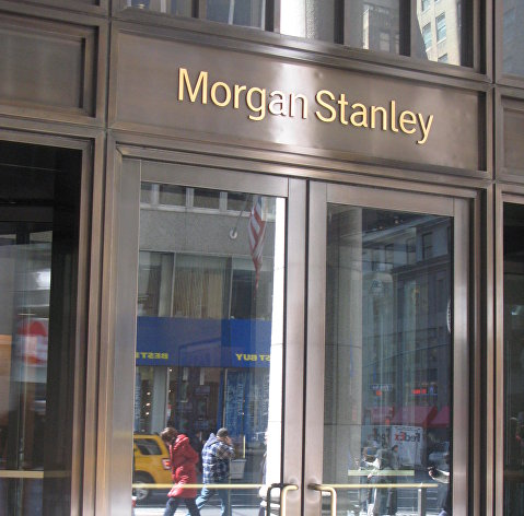 %Офис банка Morgan Stanley