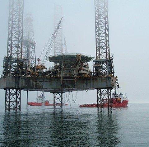 нефтедобычная платформа