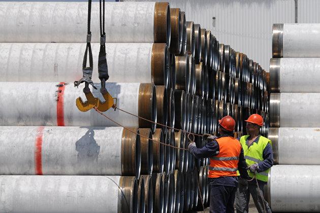 """Газпром"" построил 66% газопровода ""Турецкий поток"""