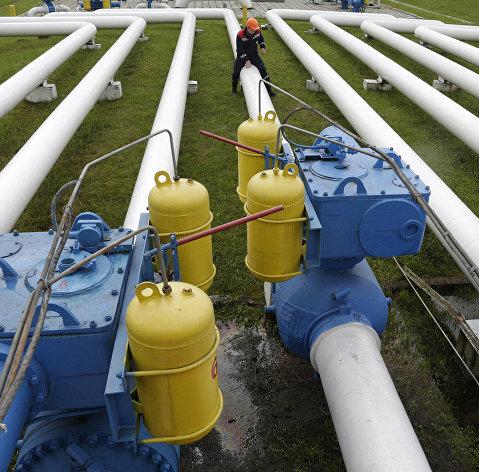 #Газовое хранилище под Львовом, Украина