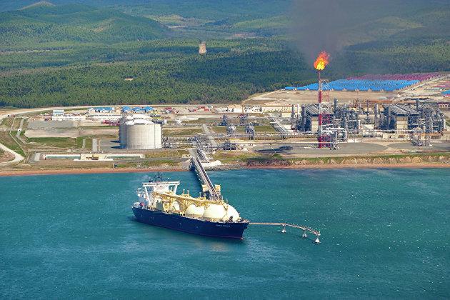 танкер СПГ