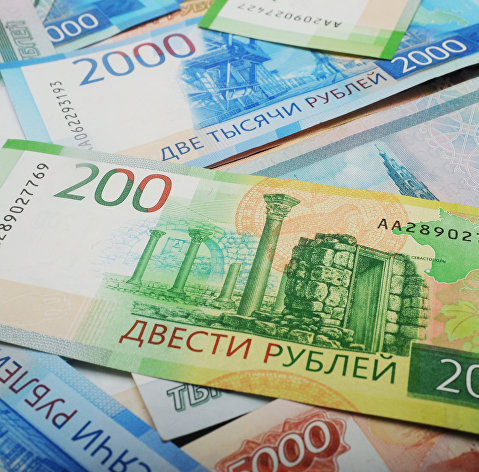 Рубль уверенно растет к доллару и евро в начале рабочей недели