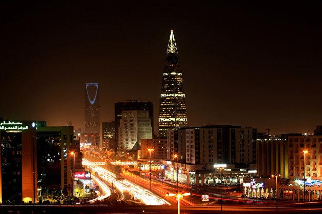#Вид на Эр-Рияд, Саудовская Аравия