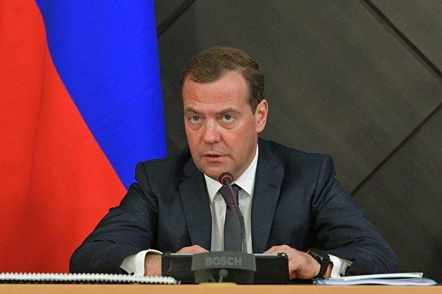 % Председатель правительства РФ Дмитрий Медведев