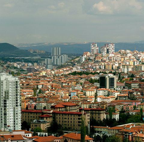 # Вид на город Анкара