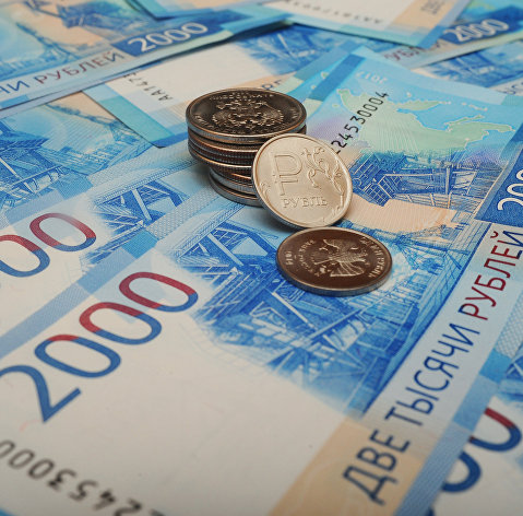 %Российские рубли