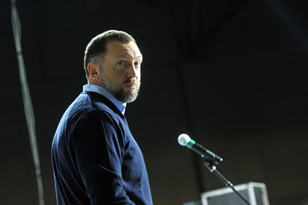 %Бизнесмен Олег Дерипаска