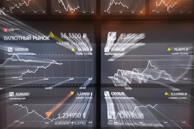 829151345 - Евро снижается к доллару после статистики из еврозоны