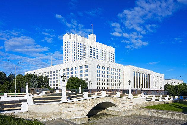 %Дом правительства РФ