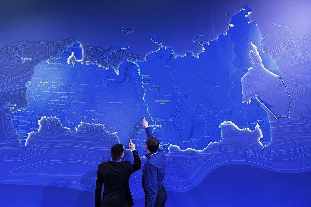 %Посетители на Красноярском экономическом форуме