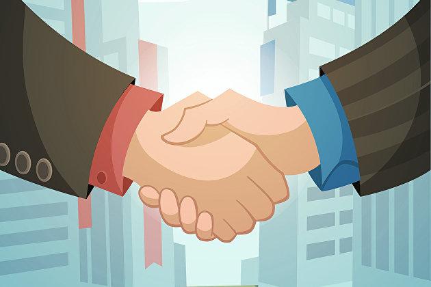 #Рукопожатие