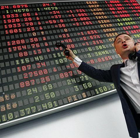 Рынок акций РФ снижается вслед за бумагами Сбербанка
