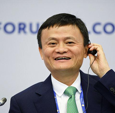 Основатель крупнейшей китайской интернет-компании Alibaba Джек Ма