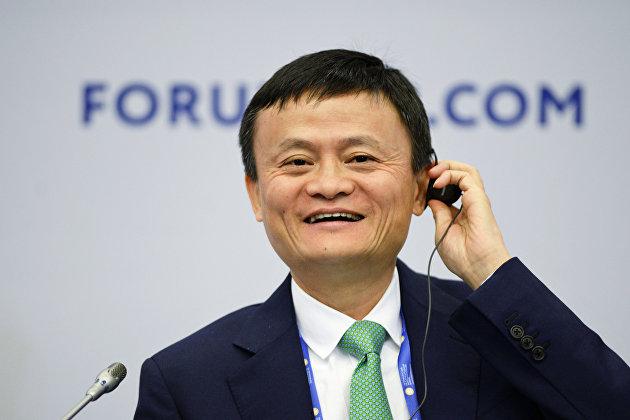 %Основатель крупнейшей китайской интернет-компании Alibaba Джек Ма