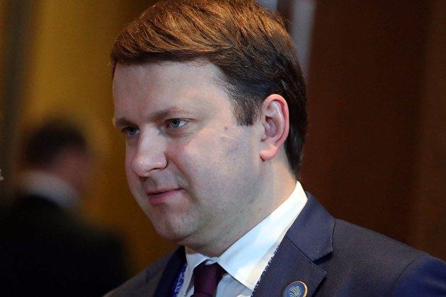 % Министр экономического развития РФ Максим Орешкин
