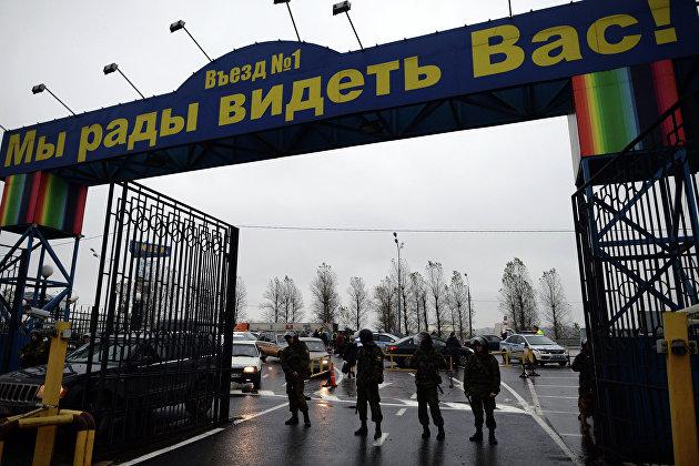 """Полиция проверяет московский рынок """"Садовод"""""""