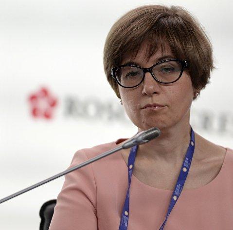 #Первый заместитель председателя Центрального банка РФ Ксения Юдаева