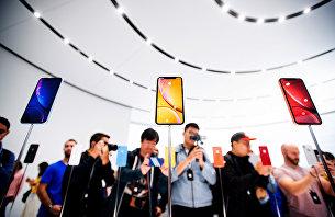 Новые смартфоны Apple iPhone XR. 12 сентября 2018 года