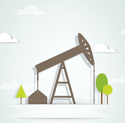 %Нефтяной насос