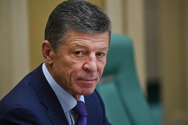 %Заместитель председателя правительства РФ Дмитрий Козак на заседании Совета Федерации РФ. 29 ноября 2017