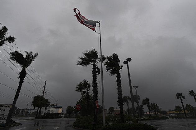 """На США обрушился ураган """"Николас"""""""