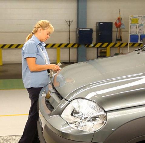 # Сборка автомобилей Шевроле Нива на заводе GM-АвтоВАЗ