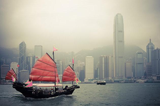 """829358487 - Инвесторы насторожились. Гонконг может """"добить"""" отношения США и КНР"""