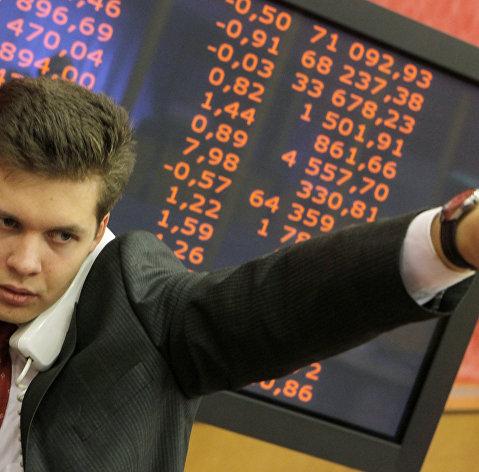"""Работа """"Московской межбанковской валютной биржи"""" (ММВБ)"""