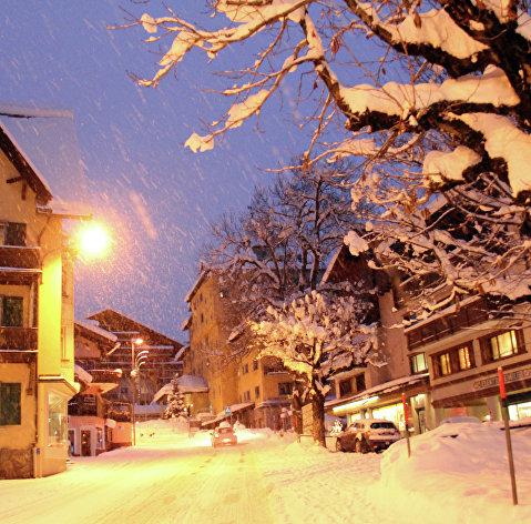 Архитектурный облик Давоса (Швейцария)