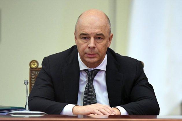 Первый вице-премьер – министр финансов РФ Антон Силуанов