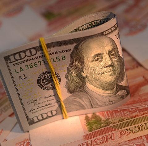 829609842 - Рубль вечером усилил рост, доллар опустился в район 65, евро – ниже 73 руб