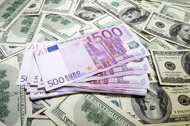 Рост курса евро к доллару ускорился после статистики о промпроизводстве в еврозоне