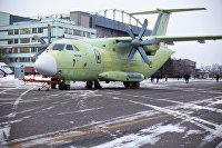Первый военно-транспортный самолет Ил-112В передали на летные испытания