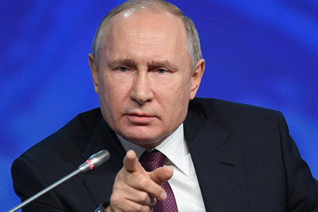Путин сообщил, что накануне обсуждал с Зеленским вопросы энергетики