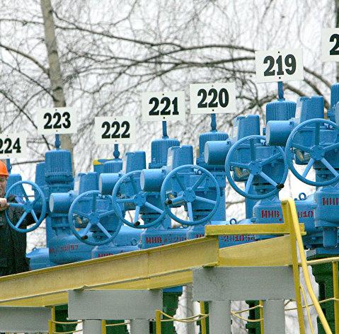 Нефтеперекачивающая станция в городе Бобовичи, Белоруссия