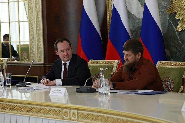 Павел Ливинский и Рамзан Кадыров