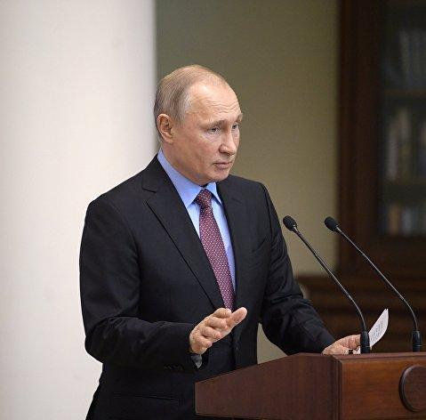 829925813 - Путин: Сверхзадачей для РФ должно быть изменение структуры экономики