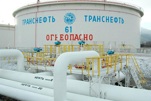 """Резервуар одного из объектов компании """"Транснефть"""""""