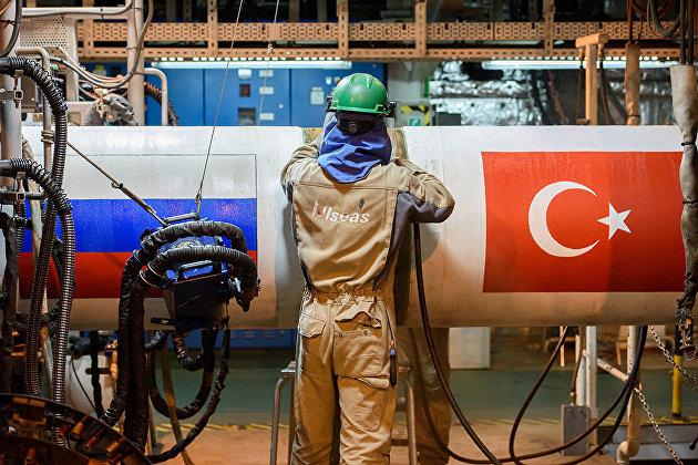 """830049094 - Запуск первой нитки """"Турецкого потока"""" ожидается с 1 января 2020 г"""
