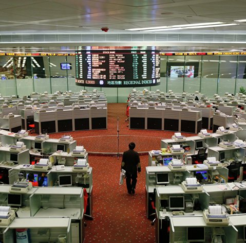 Биржи Китая закрылись снижением шестой день подряд на торговых рисках