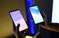 Презентация новых устройств компании Samsung