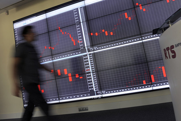Российский рынок акций растет на ослаблении внешнеполитических рисков